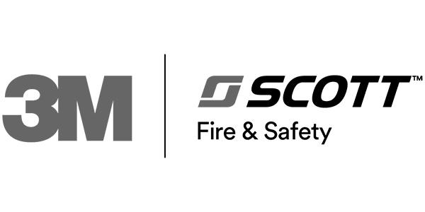 3M Scott logo grey